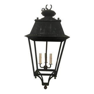 1950s French Lantern For Sale