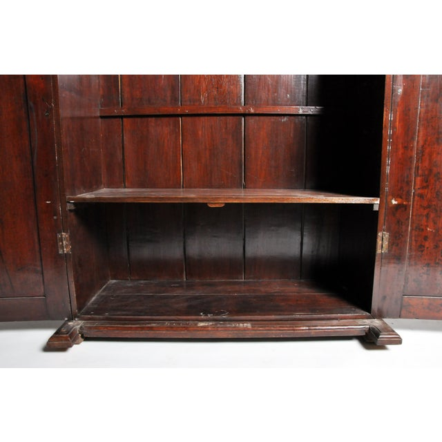 British Colonial Victorian Armoire For Sale - Image 9 of 11