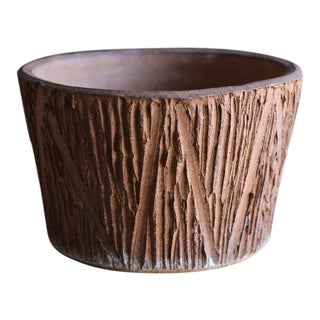 """Scratch"" Pattern Planter by David Cressey for Architectural Pottery For Sale"