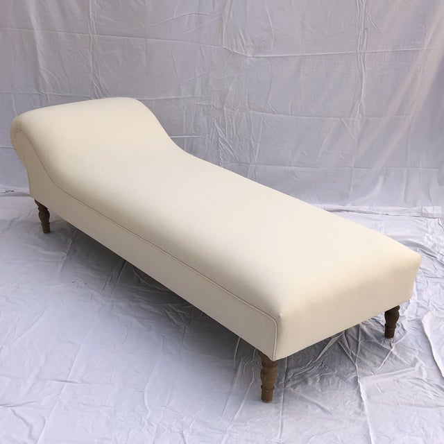 Midcentury Linen Slipcovered Daybed For Sale In Los Angeles - Image 6 of 11