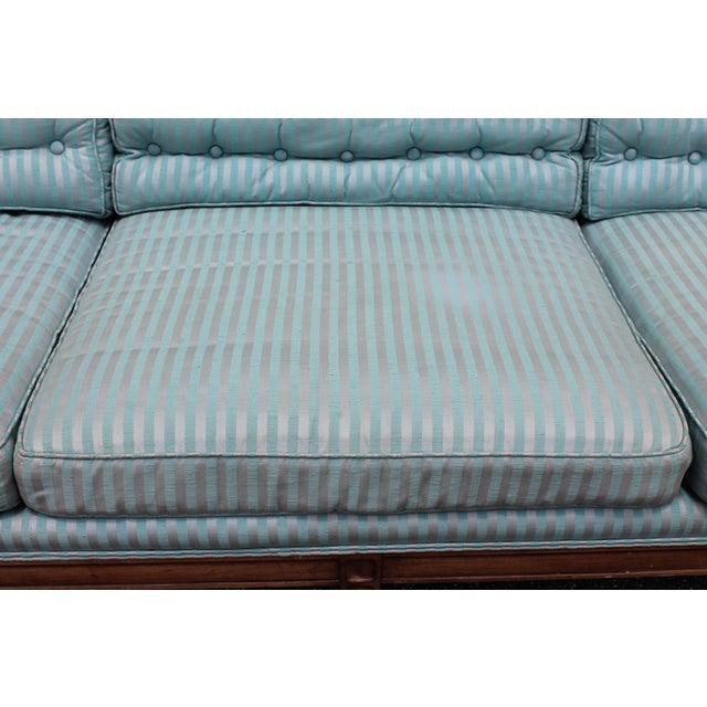 "Mid Century Neoclassical ""Hamptons"" Sofa - Image 8 of 11"