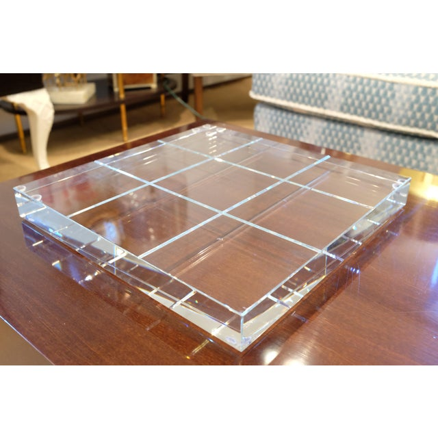 Modern Crystal Game Board For Sale - Image 10 of 11