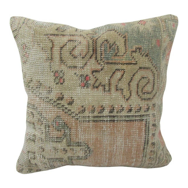 Vintage Turkish Decorative Cushion Cover For Sale