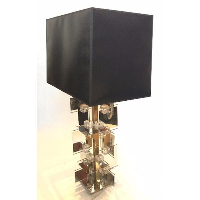 1960s Gaetano Sciolari Sculptural Table Lamp - Image 3 of 5