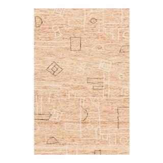 "Justina Blakeney X Loloi Leela Rug, Terracotta / Natural - 3'-6"" x 5'-6"" For Sale"