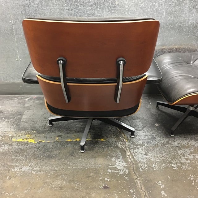 Herman Miller Lounge Chair + Ottoman - Image 5 of 10