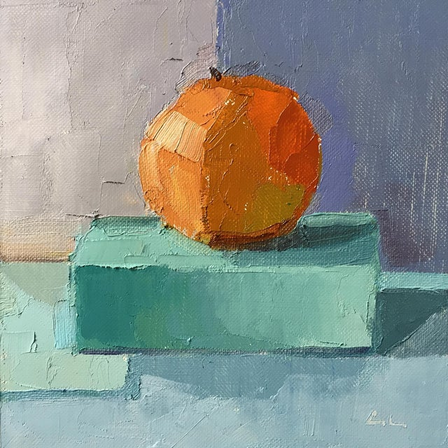 Clementine Original Oil Painting - Image 1 of 3