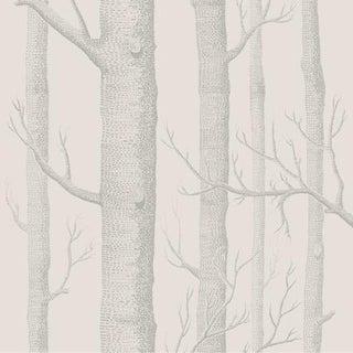 Cole & Son Woods Wallpaper Roll - Parchment For Sale