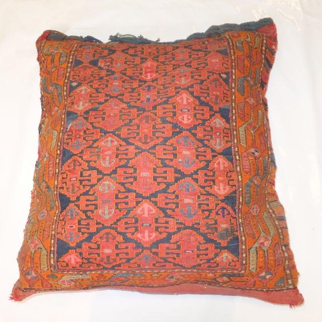 Antique Persian Kilim Pillow - Image 2 of 3
