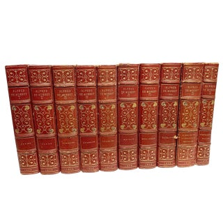 Alfred De Musset Books - Set of 10 For Sale