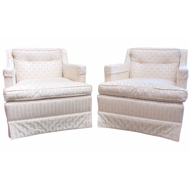 MGM Mid-Century Club Chairs - A Pair - Image 1 of 10