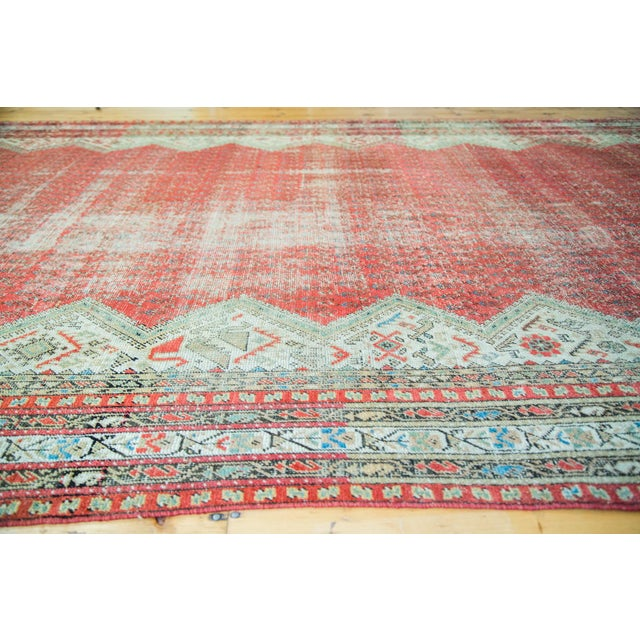 """Antique Persian Malayer Runner - 6'9"""" x 15'10"""" - Image 4 of 5"""