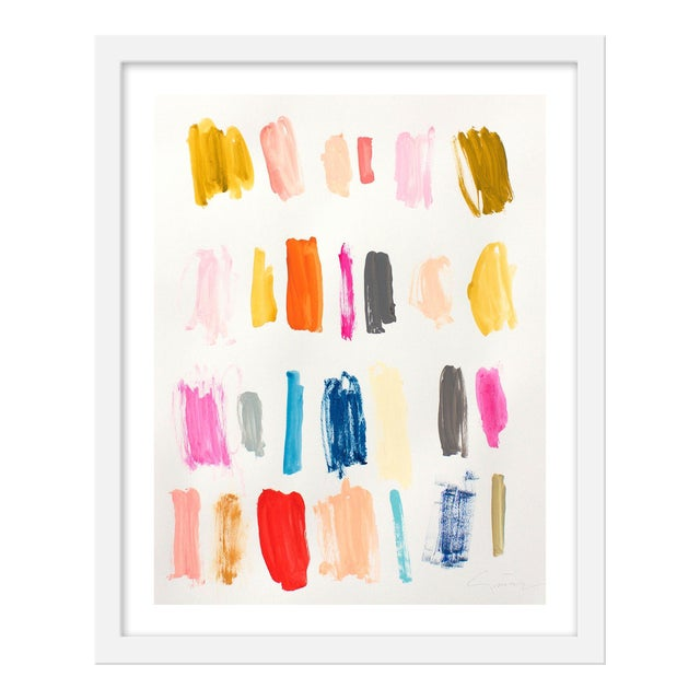 "Small ""Color Instinct No.1"" Print by Lesley Grainger, 16"" X 20"" For Sale"