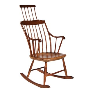 Antique Comb-Back Windsor Rocking Chair