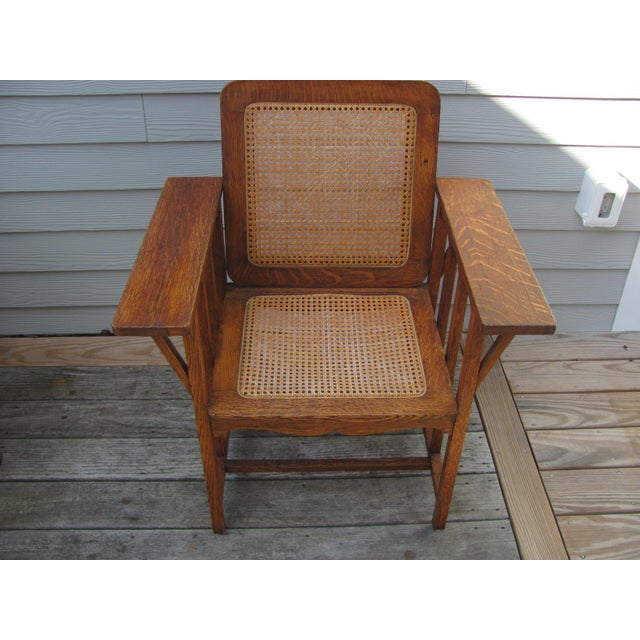 Early 20th Century Vintage David Walcott Kendall Craftsman Kendall Chair For Sale - Image 11 of 12