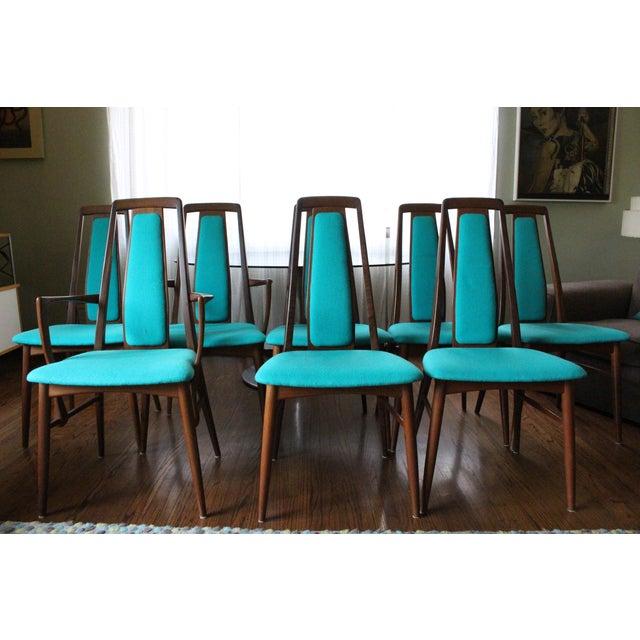 Vintage 1969 Niels Koefoed Wood Dining Set - Image 5 of 9