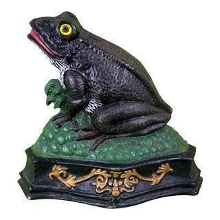 Vintage Frog Doorstop