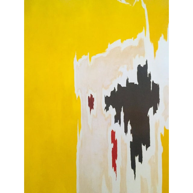 """Clyfford Still Abstract Expressionist Lithograph Print Poster """"Ph - 1074"""", 1956 For Sale In New York - Image 6 of 11"""