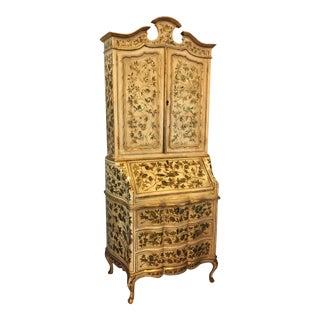 Early 20th Century Italian Secretary Desk For Sale