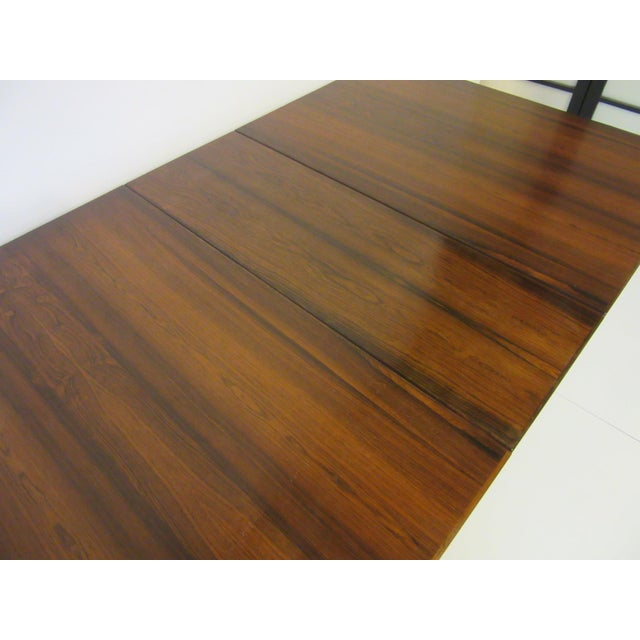 Rosewood Siguro Ressell Rosewood Gate Leg Dining Table For Sale - Image 7 of 8
