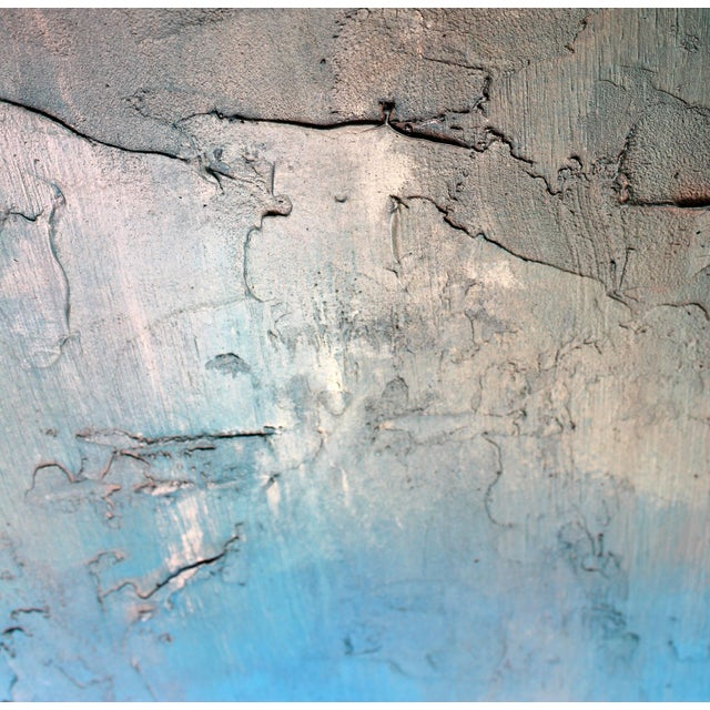"""""""Bronzed Earth"""" Original Abstract Painting - Image 2 of 3"""