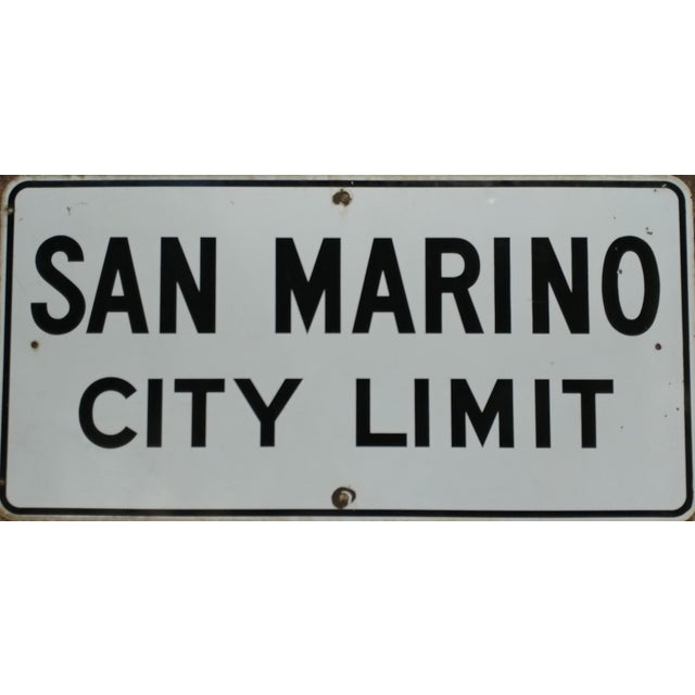 Ceramic 1930s San Marino City Limit For Sale - Image 7 of 9