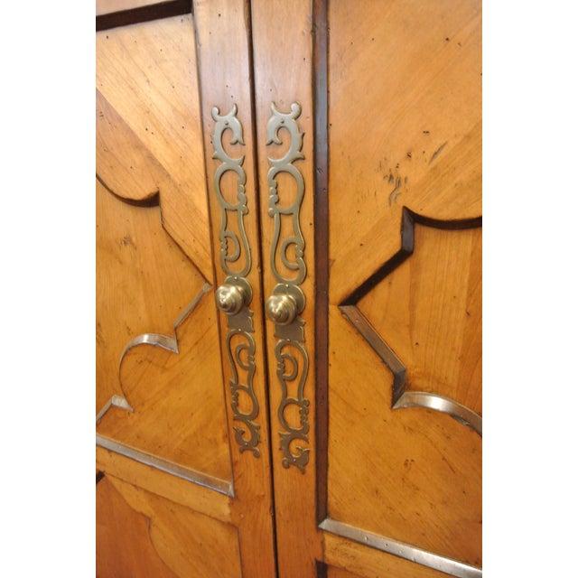 Jean Michel Arrigona Alder Wood Carved Armoire - Image 4 of 8