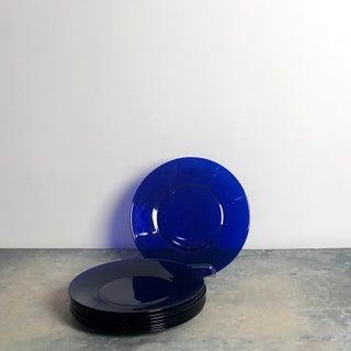 Cobalt Blue Glass Plates, China Circa 1920 Preview