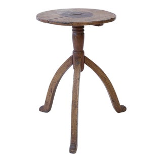 Quirky Swedish Folk Art Table For Sale
