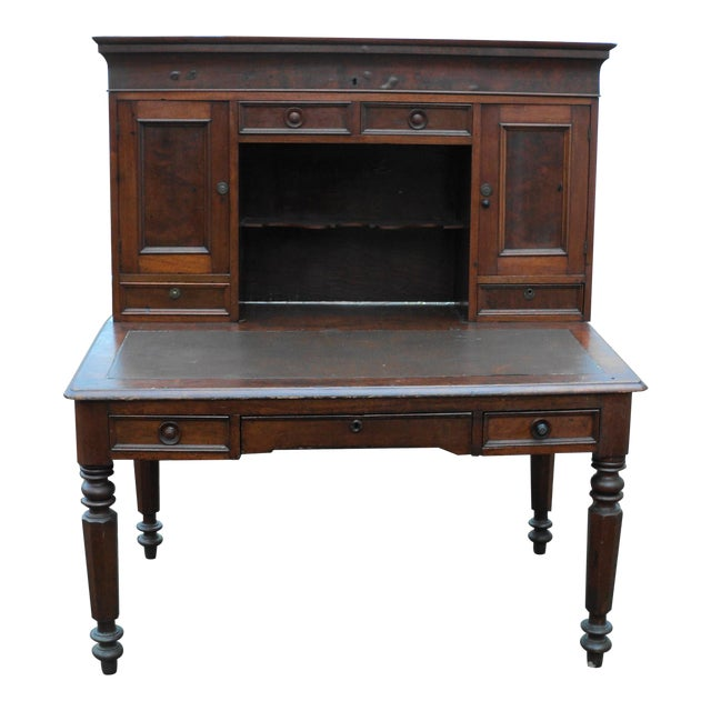 Antique Texas J. W. Hannig Railroad Station Desk - Antique Texas J. W. Hannig Railroad Station Desk Chairish