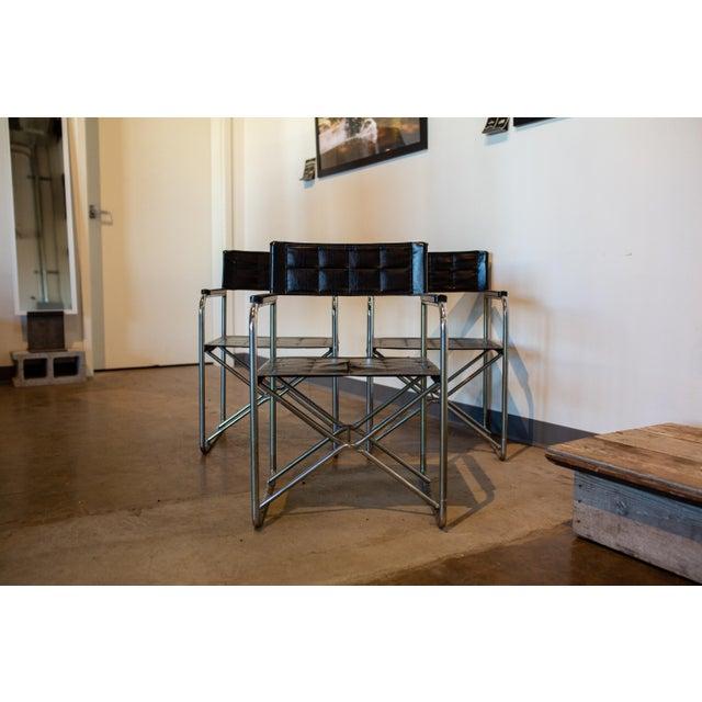 Vintage Mid Century Bauhaus Style Folding X Chairs Chairish