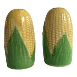 Image of Vintage Corn Salt and Pepper Shakers - A Pair For Sale