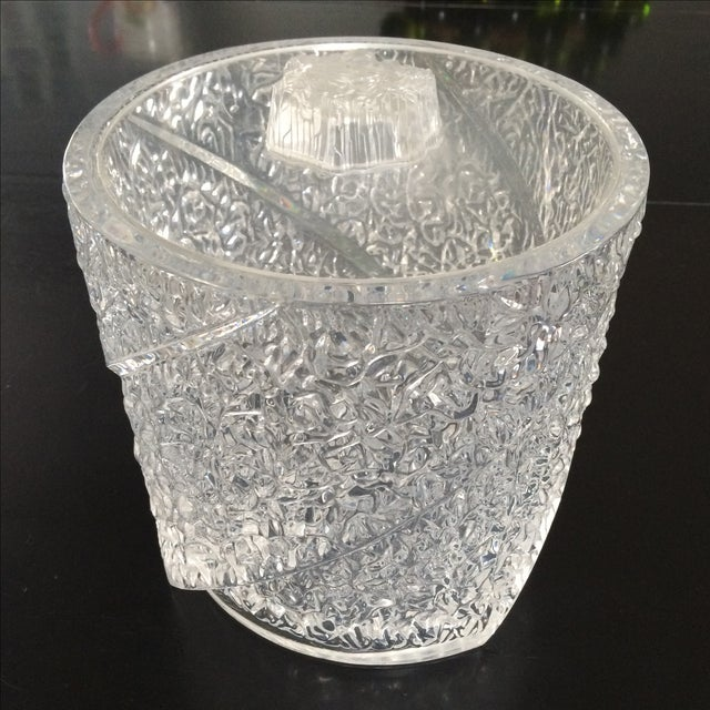 Vintage Lucite Ice Bucket - Image 2 of 10