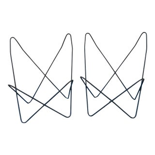 1960s Vintage Knoll Hardoy Butterfly Chair Frames-A Pair For Sale