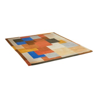 """Labrinthe"" Wool Rug by Sonia Delaunay For Sale"