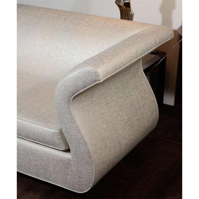 Dialogica Dialogica Hollywood Regency Sofa Designed by Sergio Savarese For Sale - Image 4 of 10