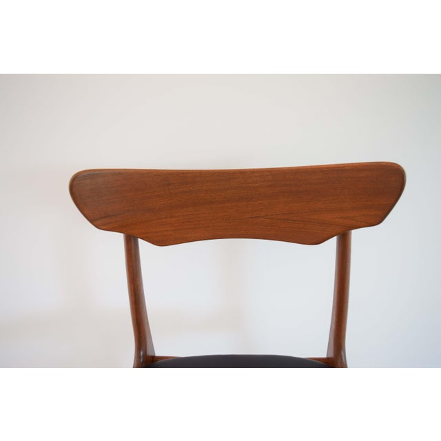 Mid Century Modern Dining Chairs - Set of 4 For Sale - Image 10 of 13