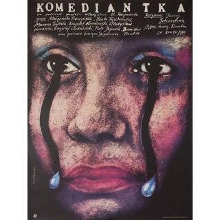 Komediantka 1987 Polish B1 Film Poster For Sale