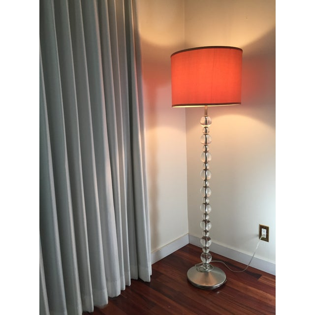 Mid-Century Crystal Floor Lamp - Image 5 of 6