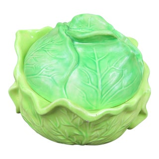 1960s Cottage Holland Mold Cabbage Soup Tureen For Sale