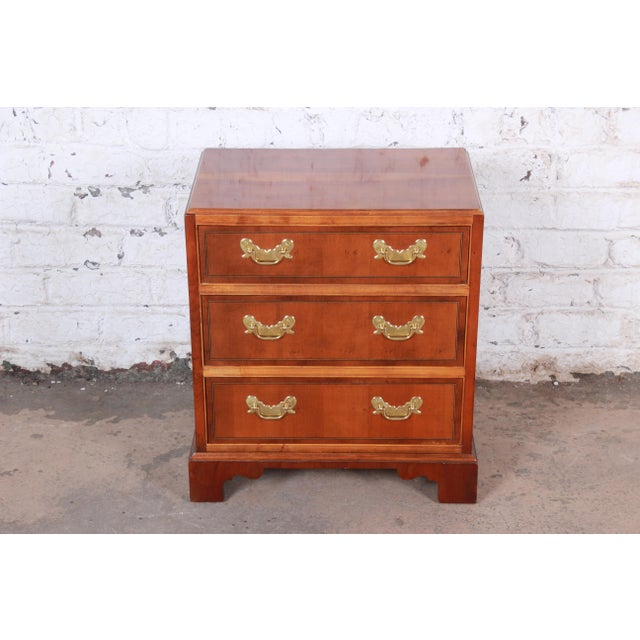 Asian Baker Furniture Chippendale Fruitwood Chest of Drawers or Commode For Sale - Image 3 of 13