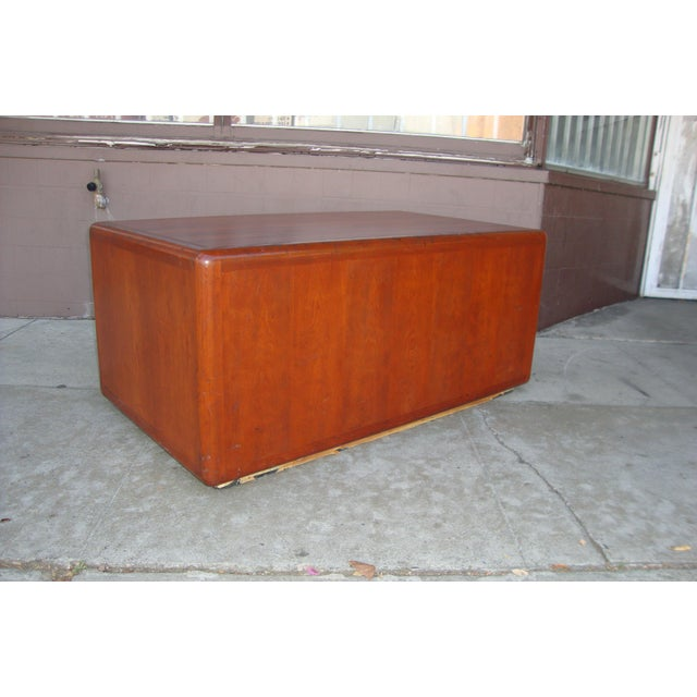 Wood 1970s Mid Century Wooden Coffee Table For Sale - Image 7 of 13