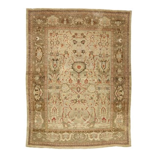 Vintage Persian Sultanabad Rug - 13'02 X 17'05 For Sale