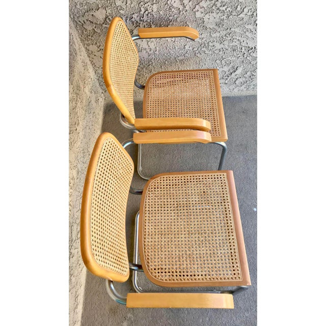 Classic Mid-Century Cesca Chairs - A Pair - Image 2 of 6