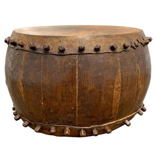 19th Century Chinese Drum Table For Sale