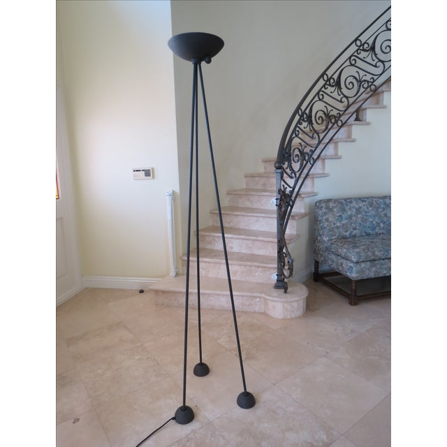 Koch & Lowy Torchiere Floor Lamp - Image 2 of 11
