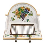Image of Italian Pottery Ceramic Hibachi or Garden Sink Surround For Sale