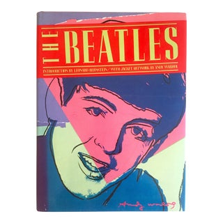 """ the Beatles "" Rare 1st Edtn Vintage 1980 Iconic Warhol Cover Art Collector's Hardcover Book For Sale"