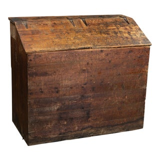 Antique 1850s Farm Seed & Feed Cabinet For Sale
