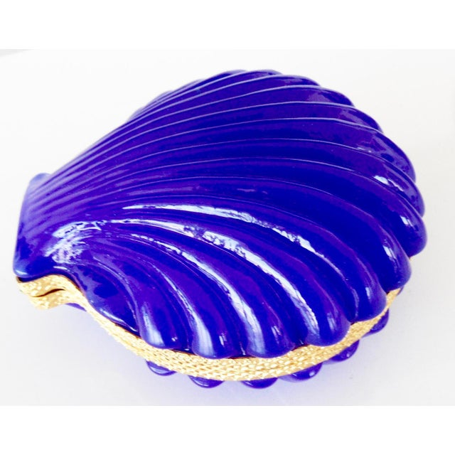 Cenedese 1960's Vintage French Opaline Glass Box For Sale - Image 4 of 4